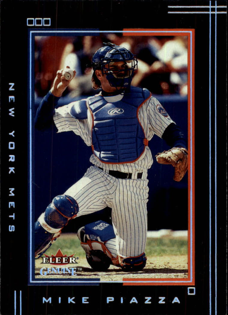 2002 Fleer Genuine #86 Mike Piazza