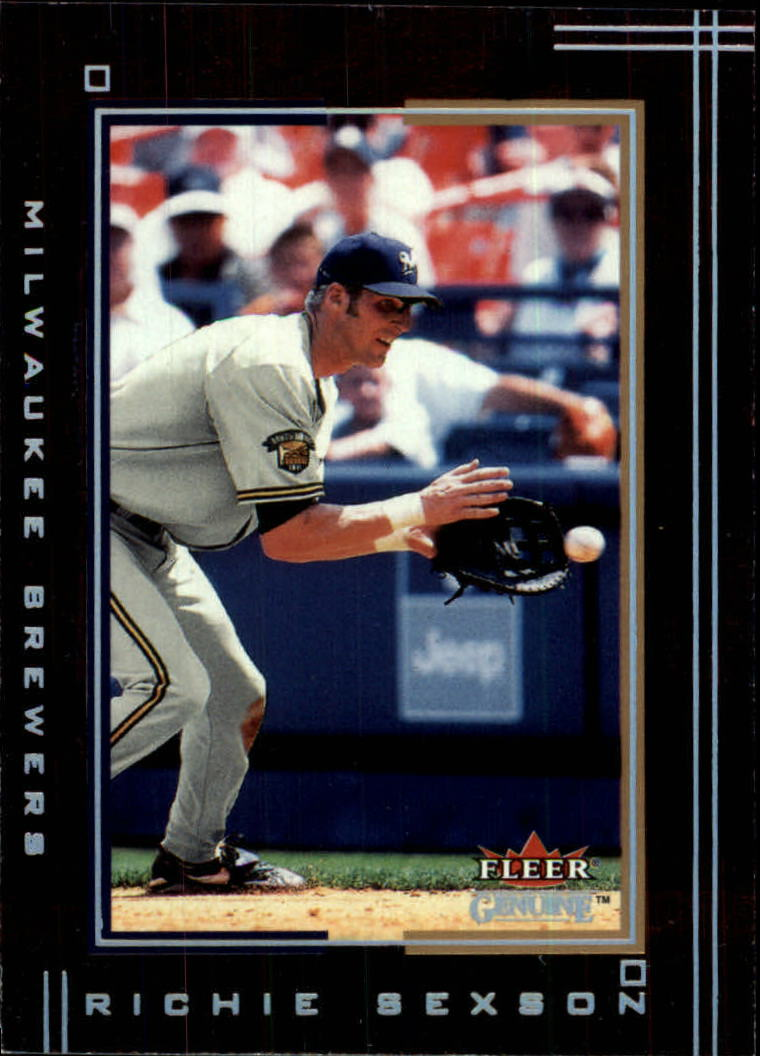 2002 Fleer Genuine #100 Richie Sexson