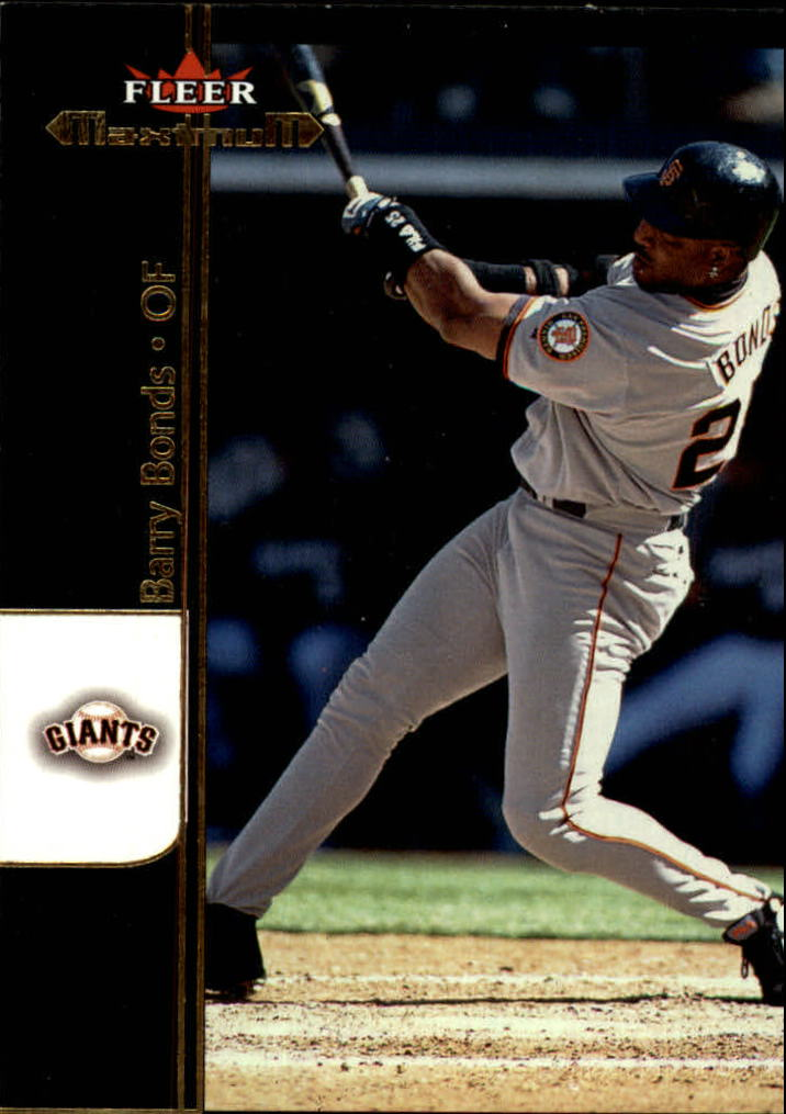 2002 Fleer Maximum #1 Barry Bonds