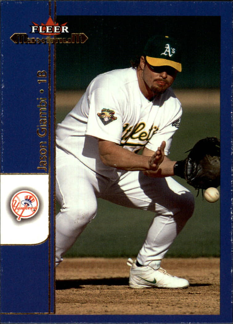 2002 Fleer Maximum #7 Jason Giambi