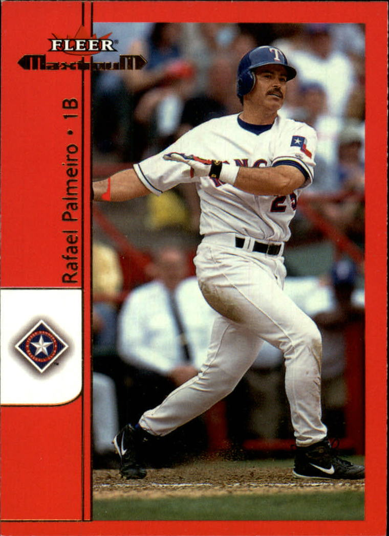2002 Fleer Maximum #11 Rafael Palmeiro