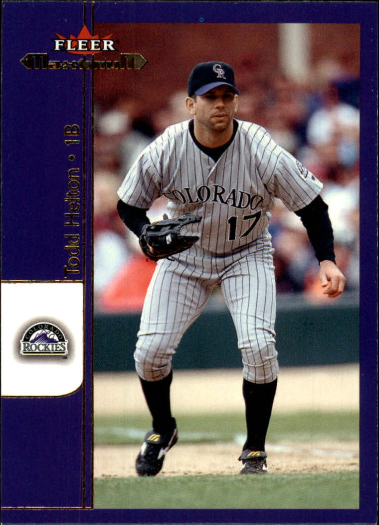 2002 Fleer Maximum #17 Todd Helton