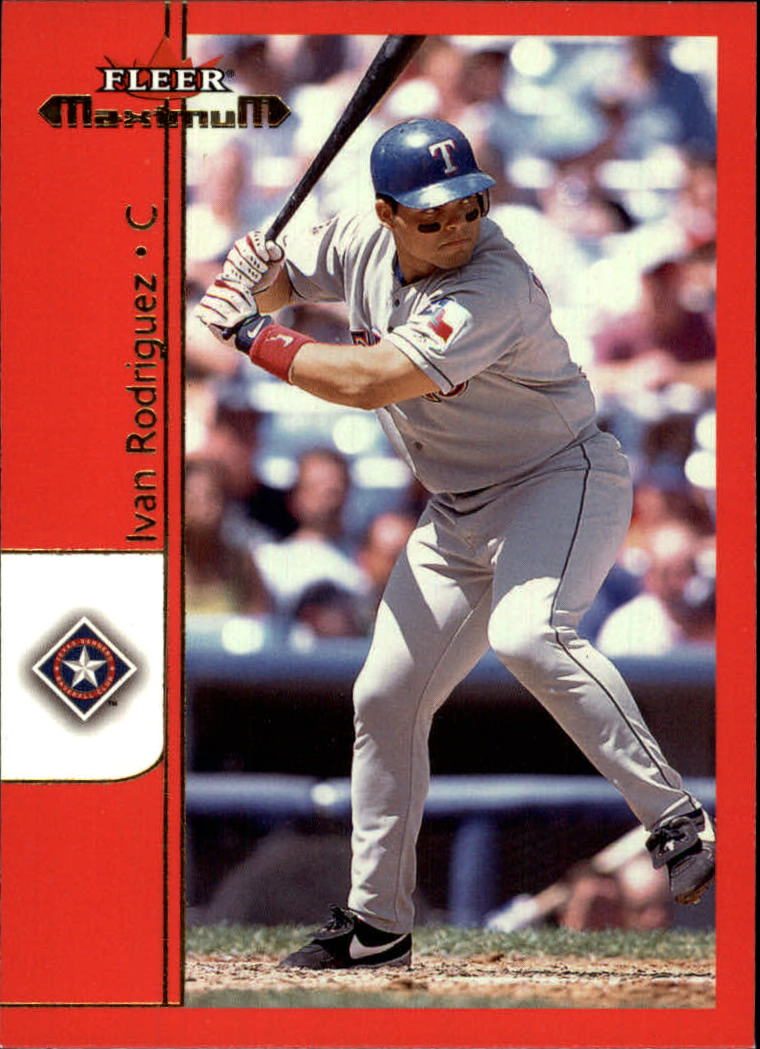 2002 Fleer Maximum #18 Ivan Rodriguez