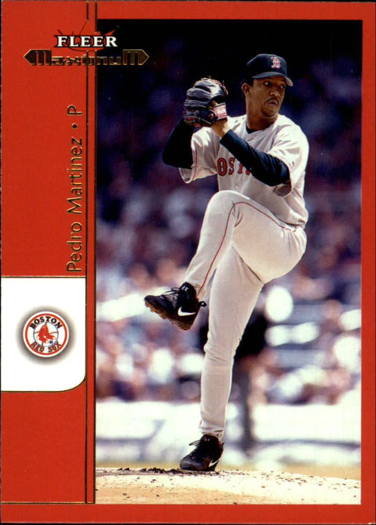 2002 Fleer Maximum #23 Pedro Martinez