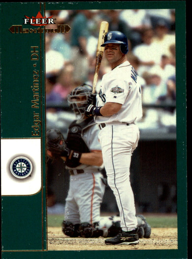 2002 Fleer Maximum #26 Edgar Martinez