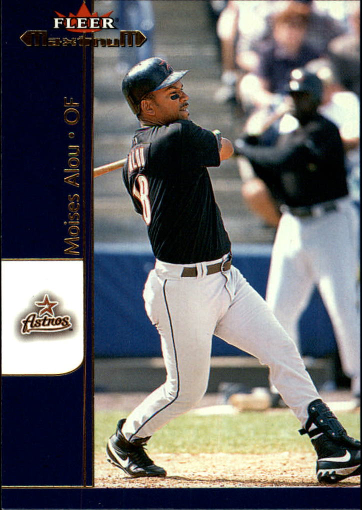 2002 Fleer Maximum #27 Moises Alou