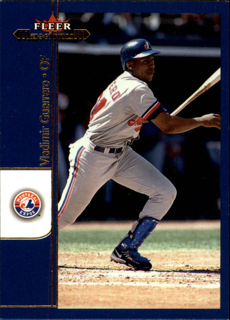 2002 Fleer Maximum #28 Vladimir Guerrero