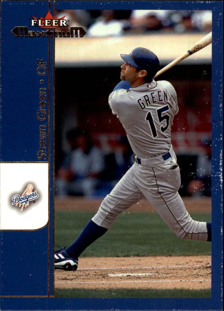 2002 Fleer Maximum #29 Shawn Green