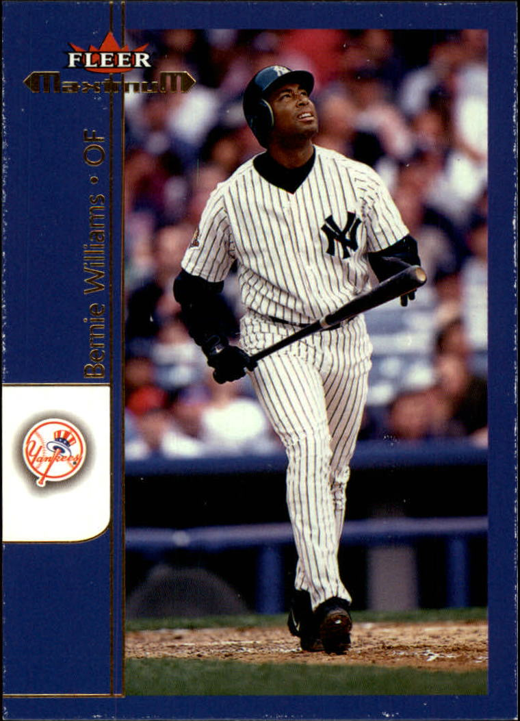 2002 Fleer Maximum #31 Bernie Williams