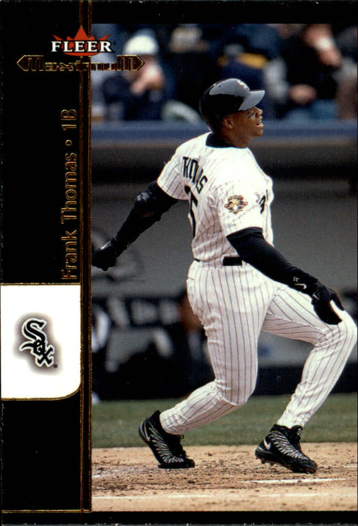 2002 Fleer Maximum #32 Frank Thomas