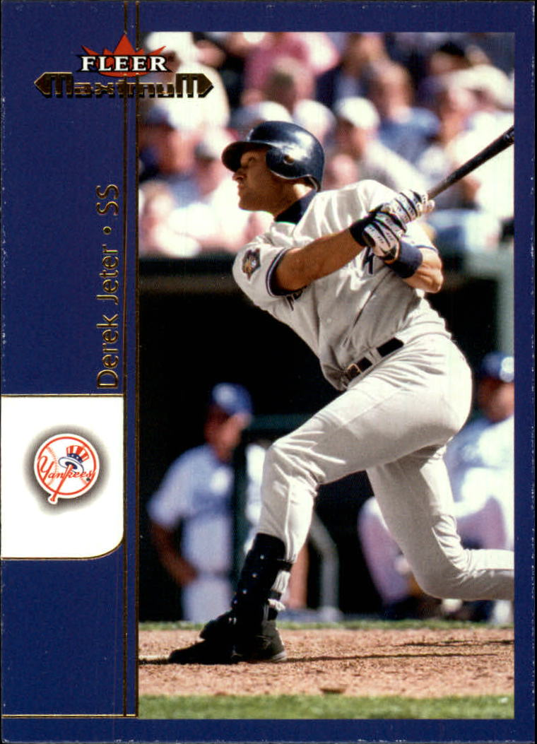 2002 Fleer Maximum #34 Derek Jeter