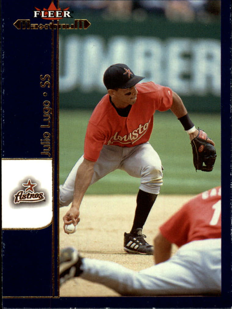 2002 Fleer Maximum #35 Julio Lugo