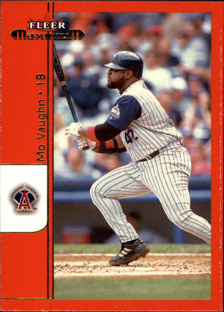 2002 Fleer Maximum #36 Mo Vaughn
