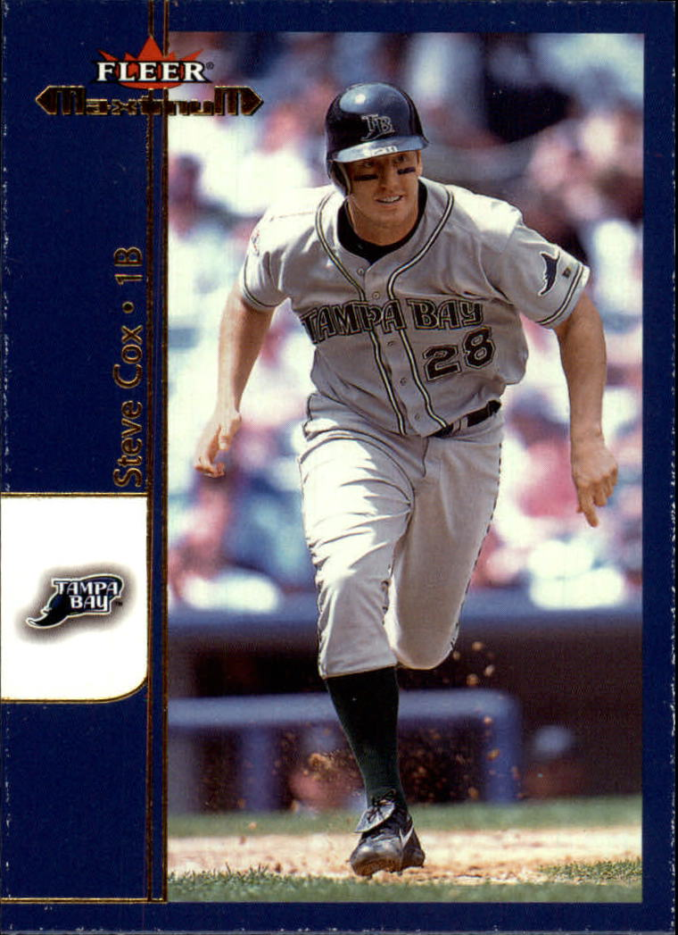 2002 Fleer Maximum #37 Steve Cox