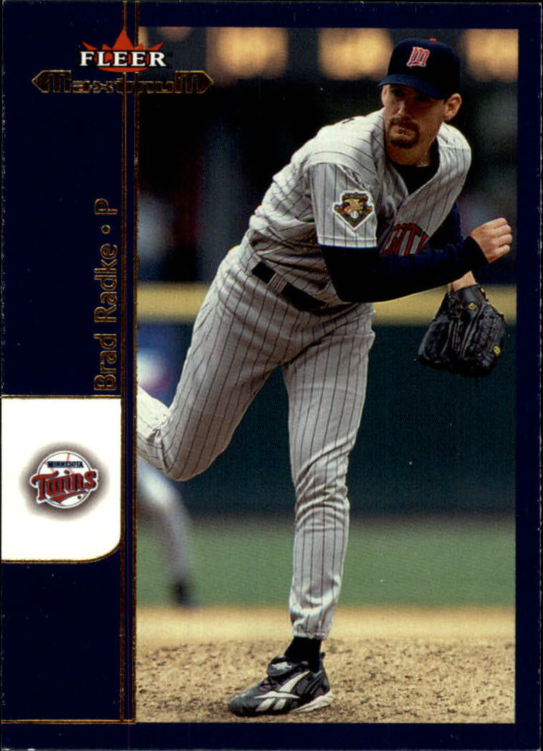 2002 Fleer Maximum #38 Brad Radke