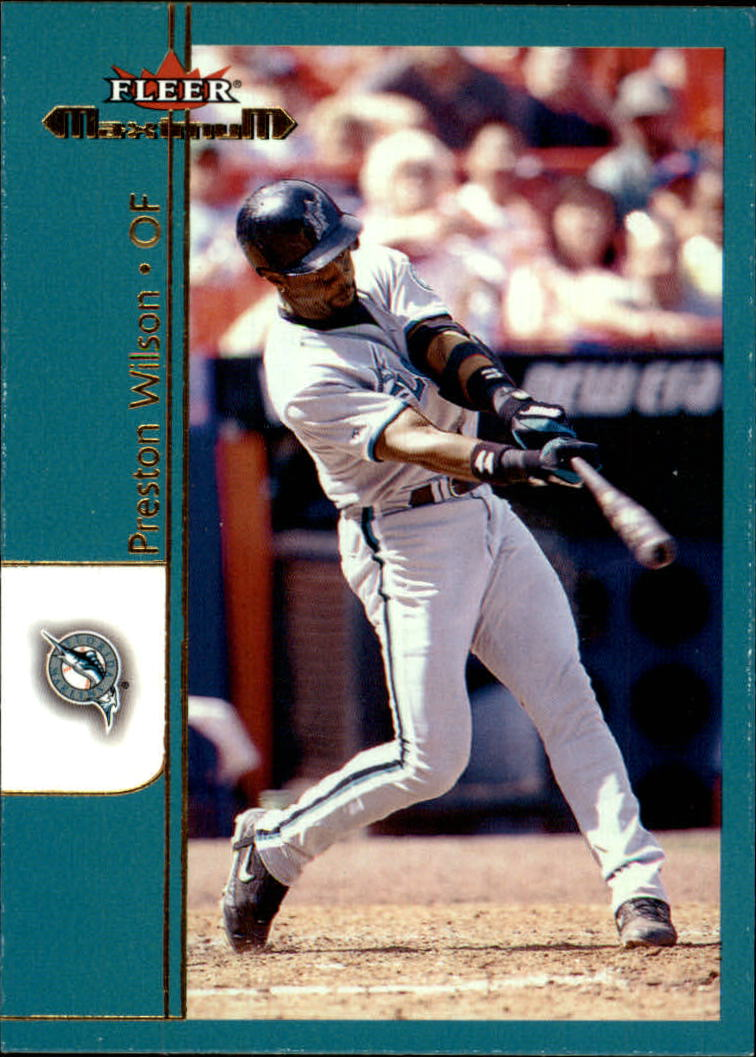 2002 Fleer Maximum #43 Preston Wilson