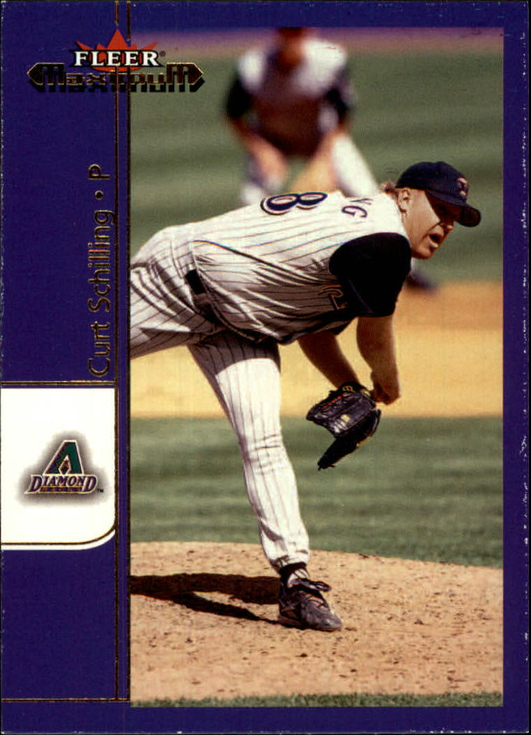 2002 Fleer Maximum #45 Curt Schilling