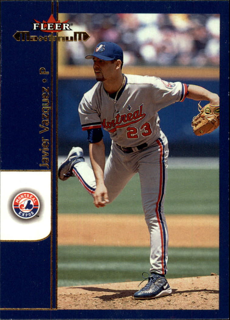 2002 Fleer Maximum #47 Javier Vazquez