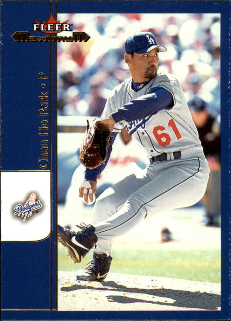 2002 Fleer Maximum #52 Chan Ho Park