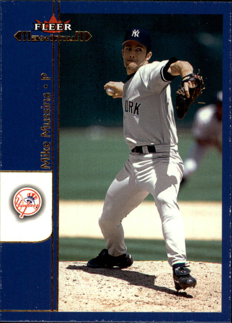 2002 Fleer Maximum #56 Mike Mussina