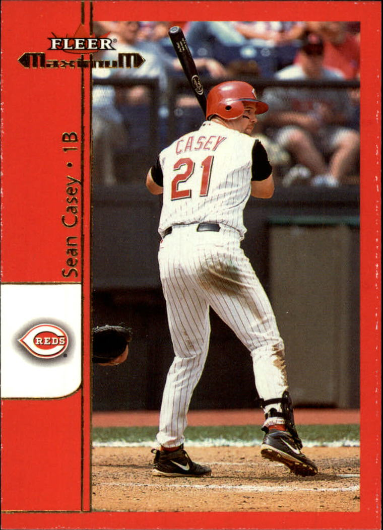 2002 Fleer Maximum #57 Sean Casey