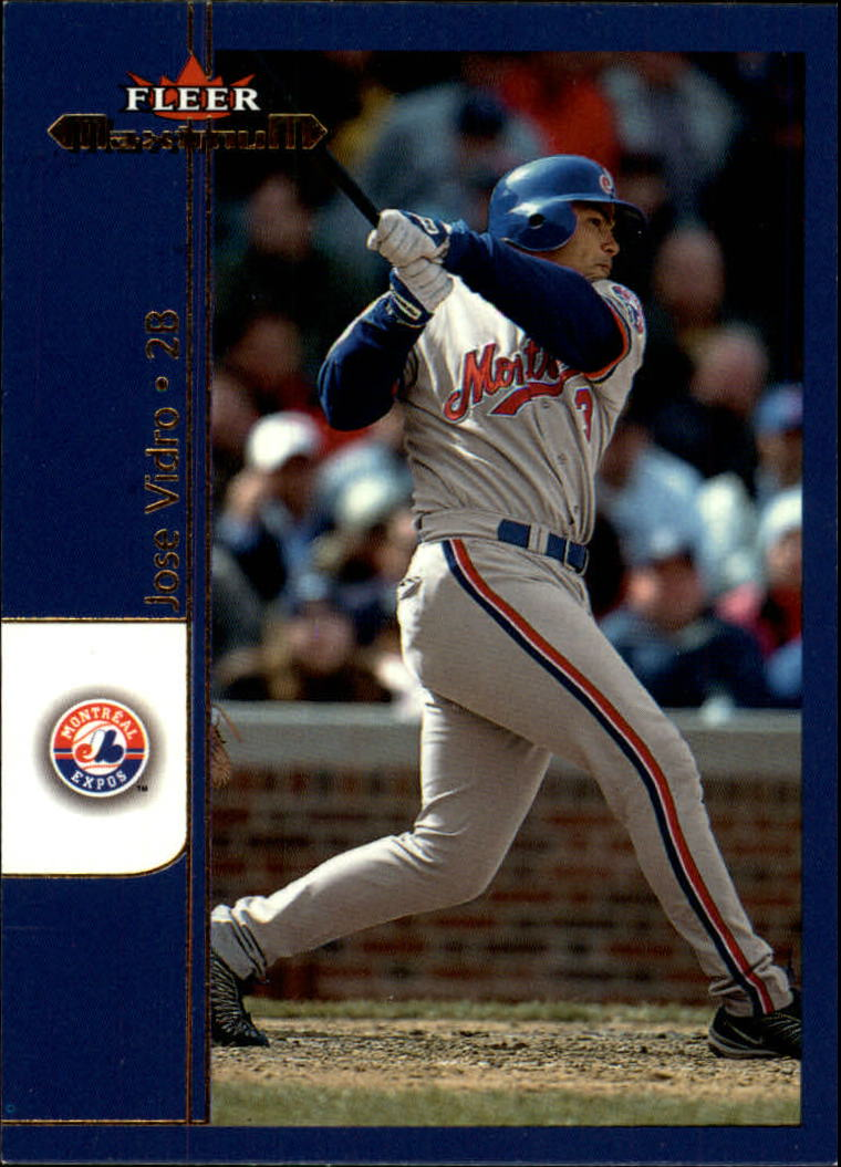 2002 Fleer Maximum #60 Jose Vidro