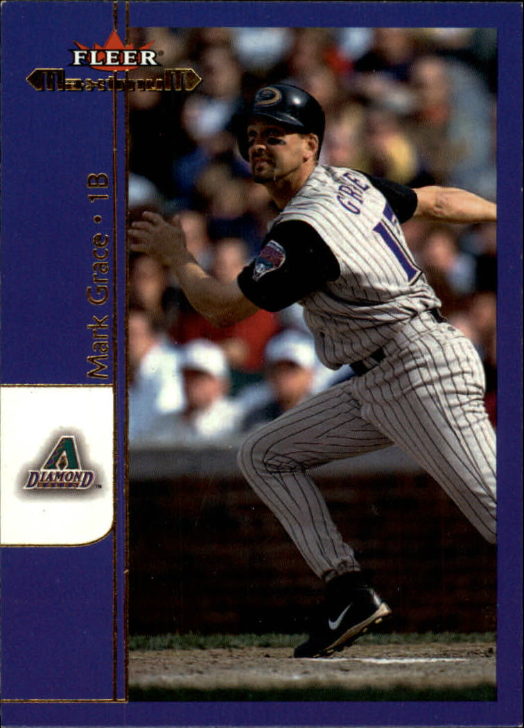 2002 Fleer Maximum #62 Mark Grace