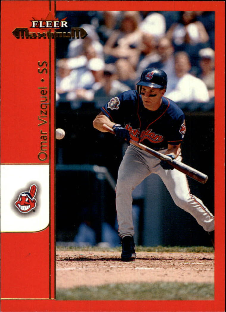 2002 Fleer Maximum #64 Omar Vizquel