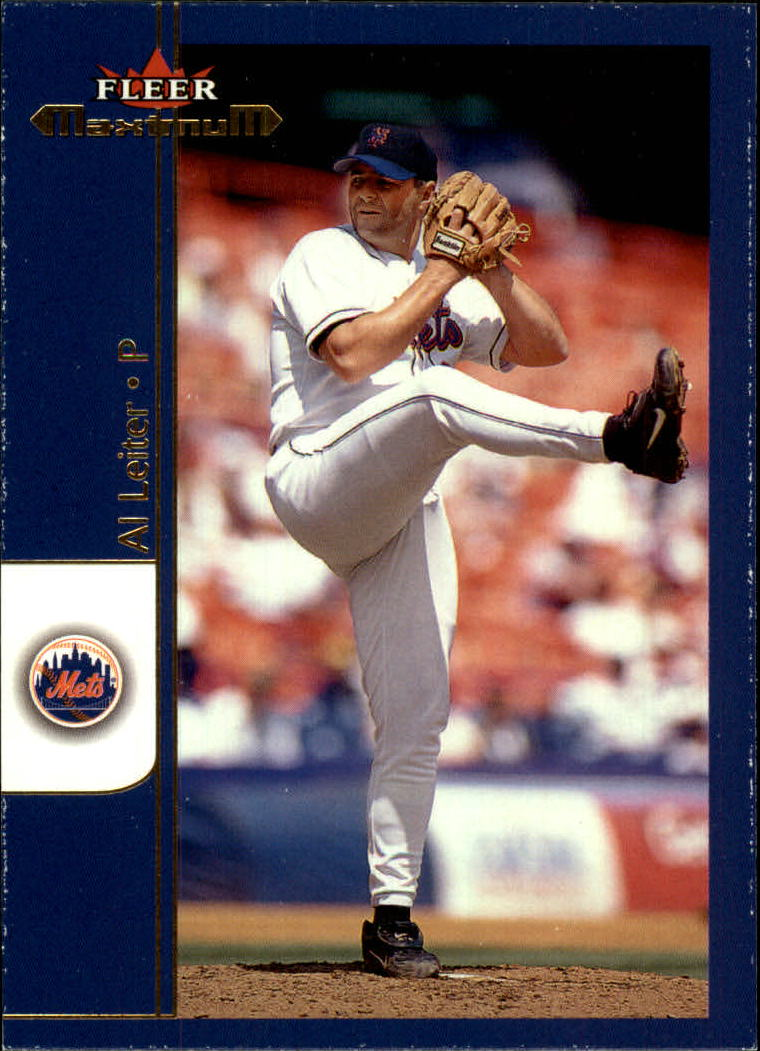 2002 Fleer Maximum #72 Al Leiter