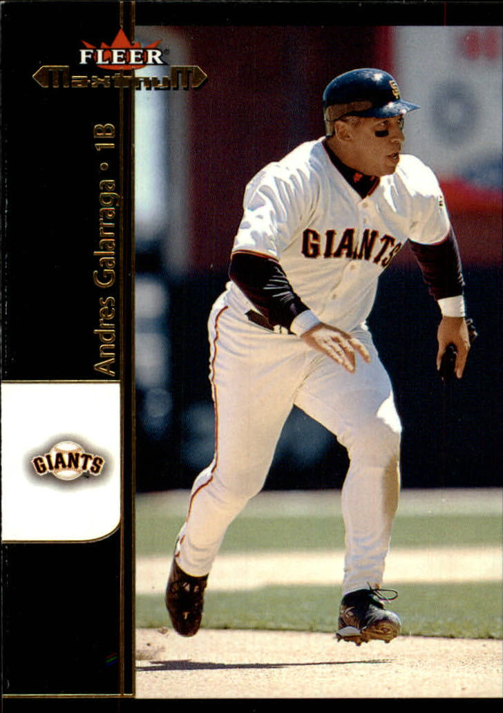 2002 Fleer Maximum #73 Andres Galarraga