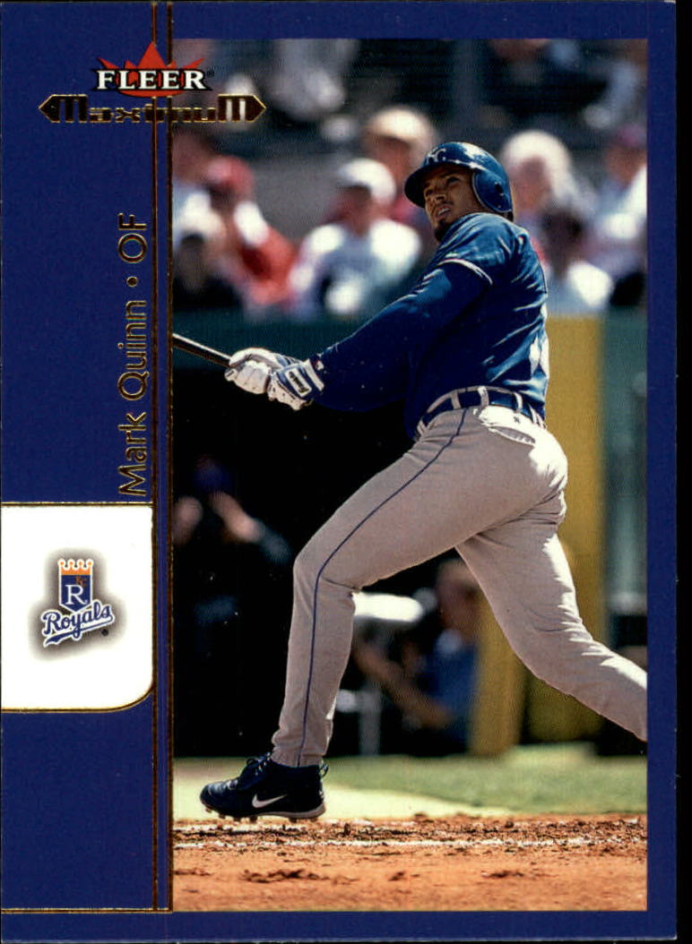 2002 Fleer Maximum #78 Mark Quinn