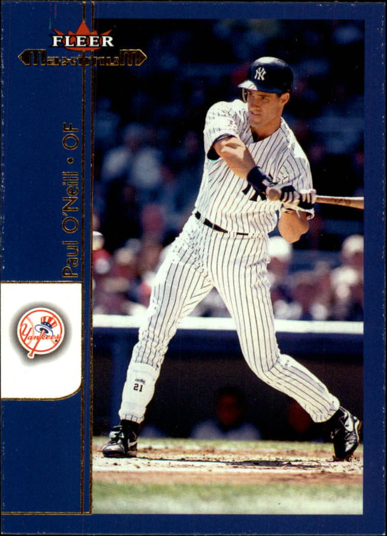 2002 Fleer Maximum #84 Paul O'Neill