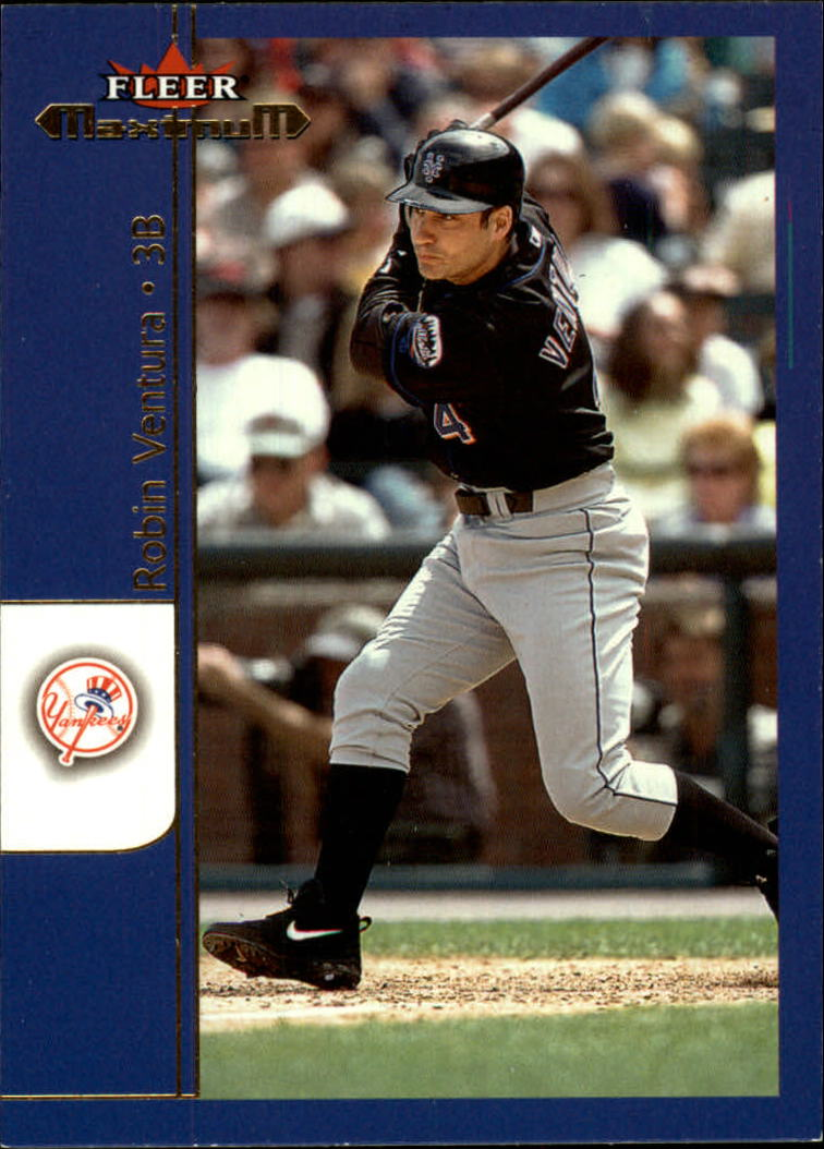 2002 Fleer Maximum #91 Robin Ventura