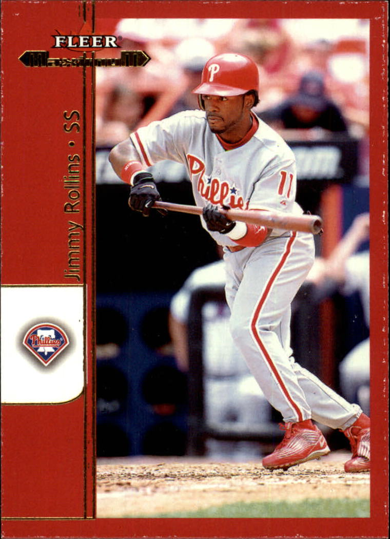 2002 Fleer Maximum #93 Jimmy Rollins