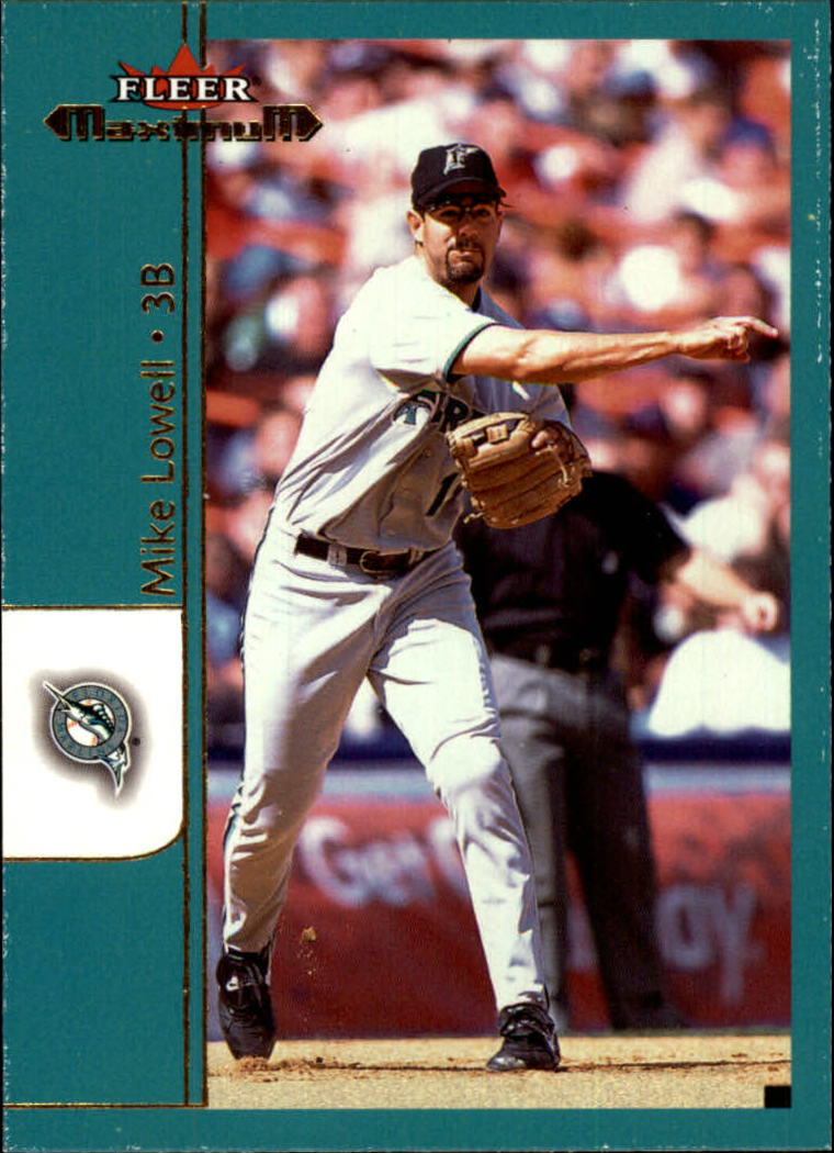 2002 Fleer Maximum #96 Mike Lowell