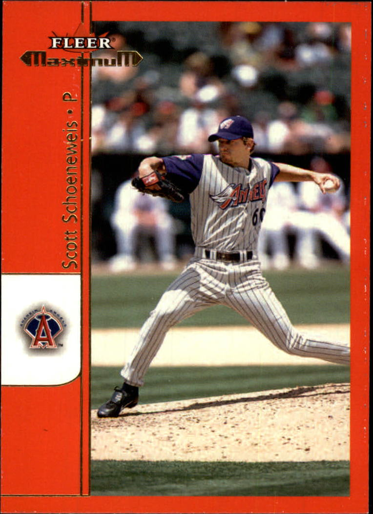 2002 Fleer Maximum #98 Scott Schoeneweis