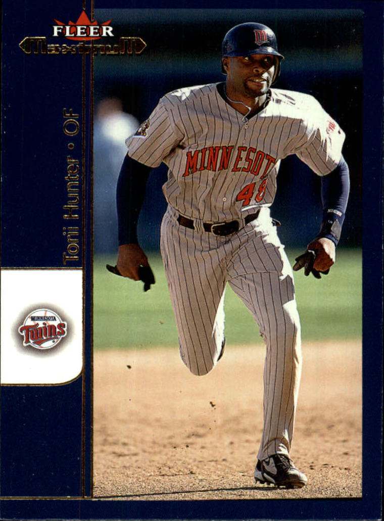 2002 Fleer Maximum #112 Torii Hunter