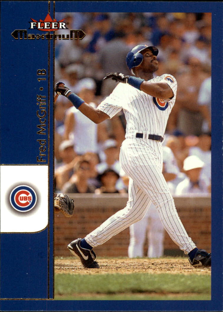 2002 Fleer Maximum #116 Fred McGriff