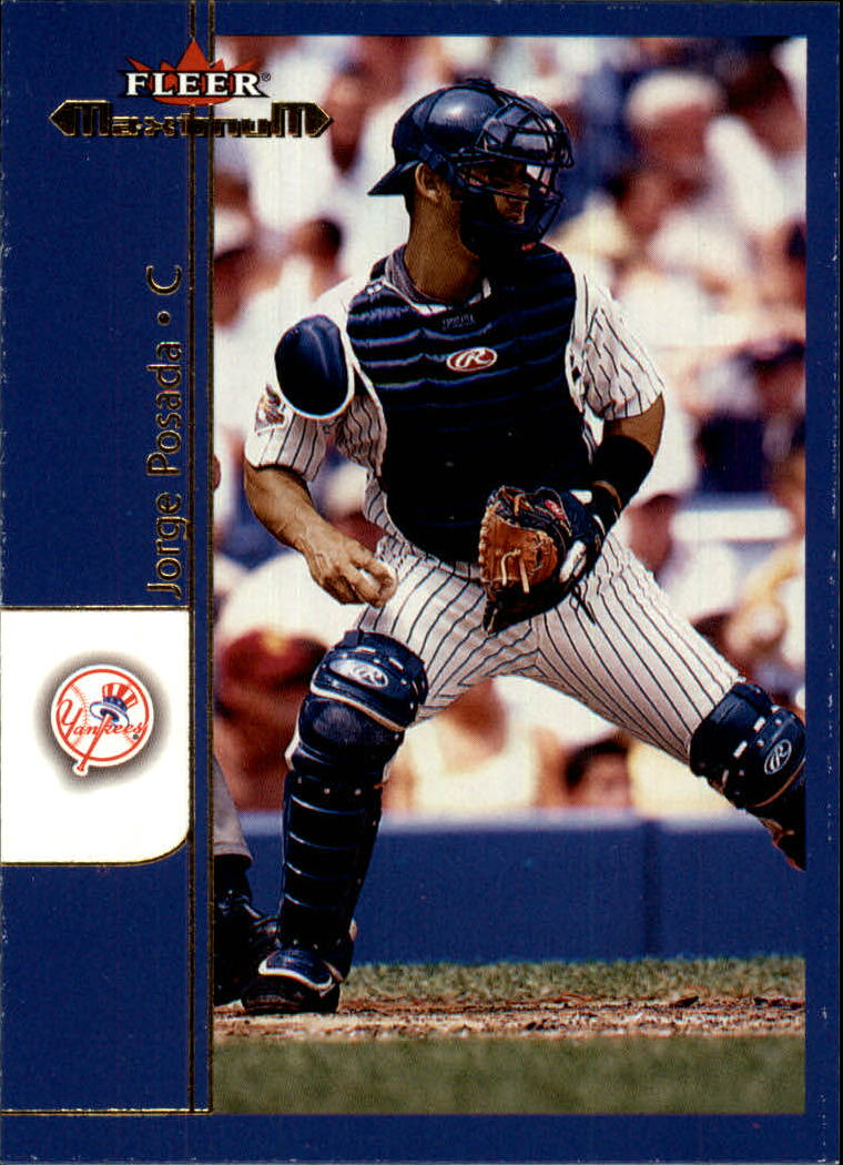 2002 Fleer Maximum #157 Jorge Posada