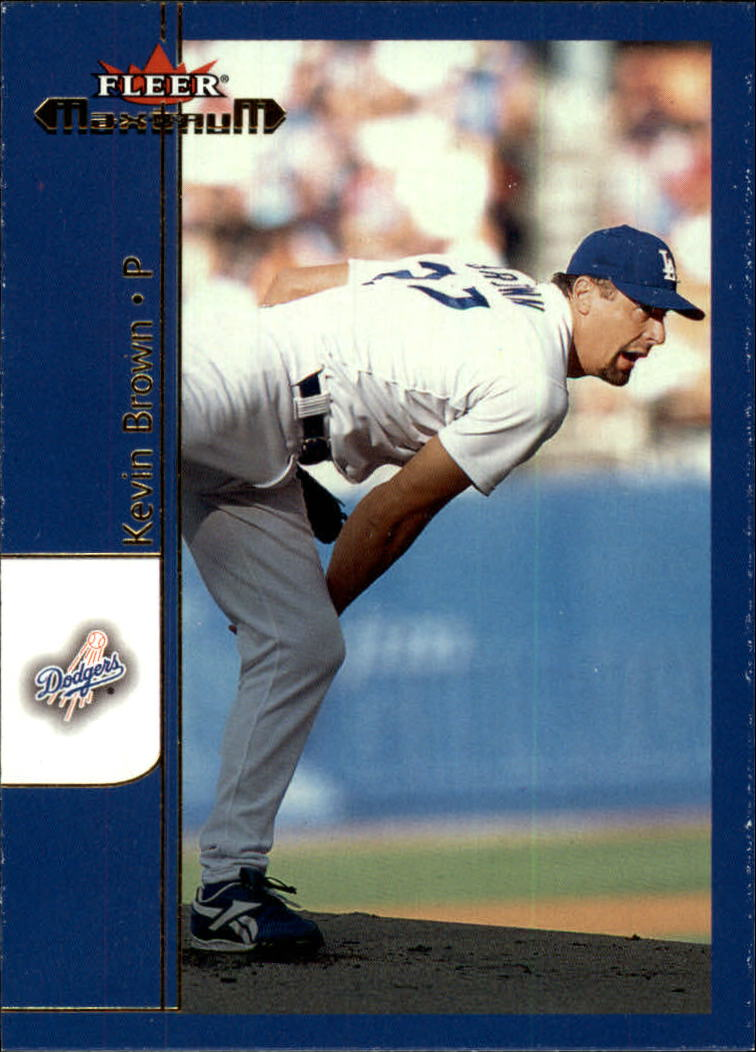 2002 Fleer Maximum #178 Kevin Brown
