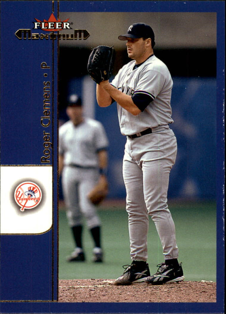 2002 Fleer Maximum #179 Roger Clemens front image