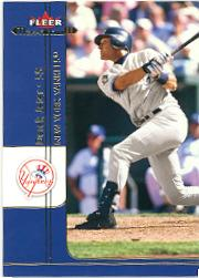 2002 Fleer Maximum #NNO Derek Jeter Promo