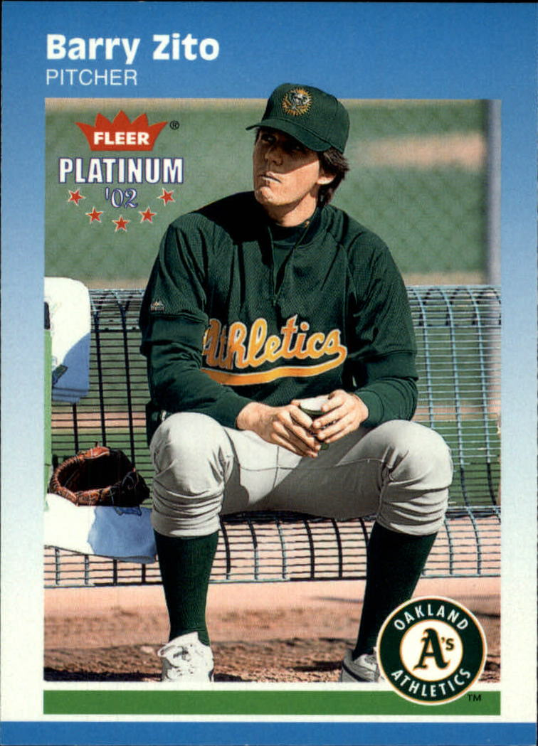 2002 Fleer Platinum #49 Barry Zito