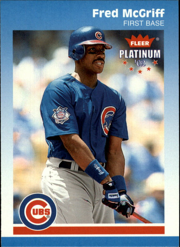 2002 Fleer Platinum #236 Fred McGriff front image