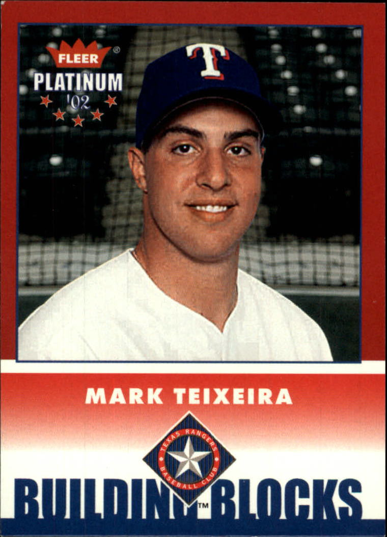 2002 Fleer Platinum #261 Mark Teixeira BB