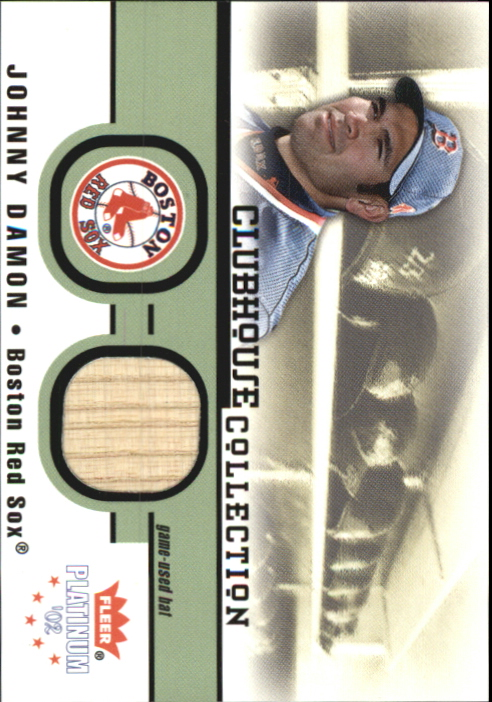 2002 Fleer Platinum Clubhouse Memorabilia #9 J.Damon Sox Bat/700