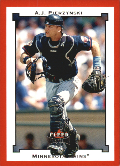 2002 Fleer Premium Star Ruby #77 A.J. Pierzynski