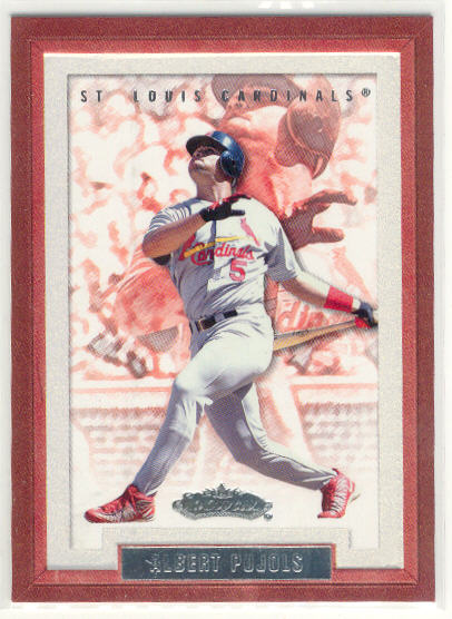 2002 Fleer Showcase #1 Albert Pujols
