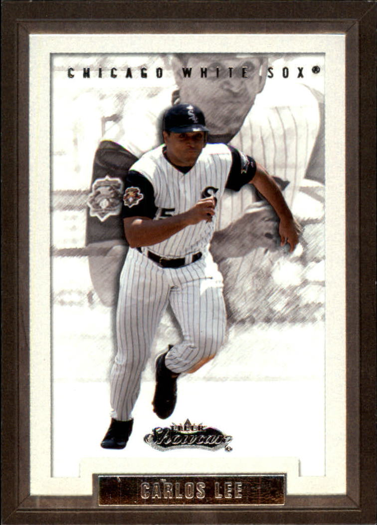 2002 Fleer Showcase #8 Carlos Lee