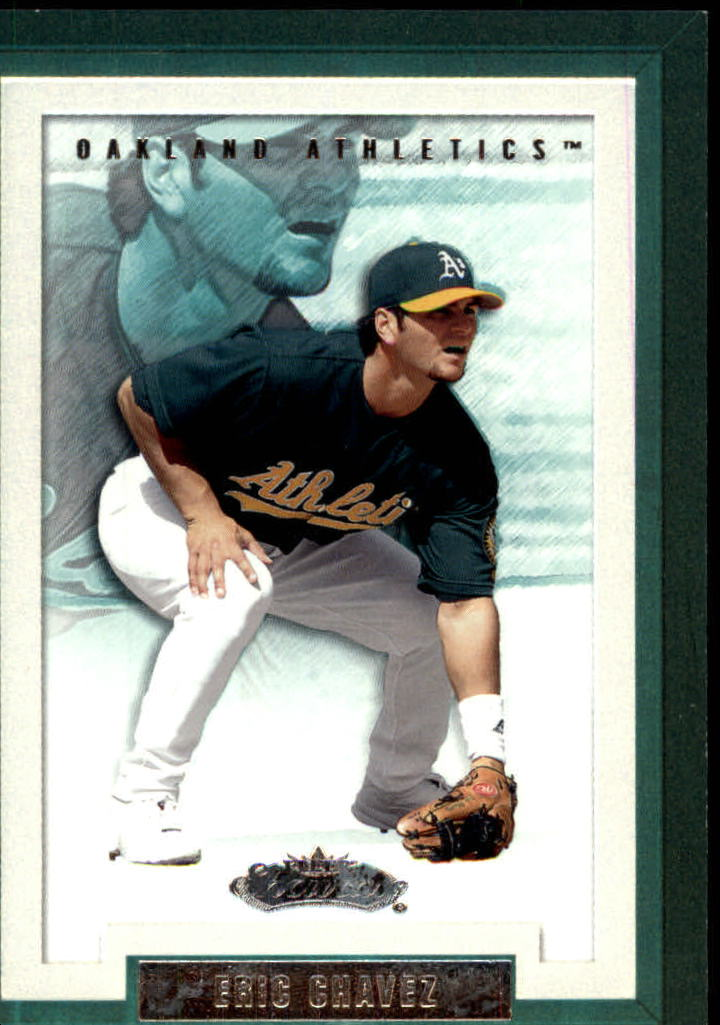 2002 Fleer Showcase #36 Eric Chavez